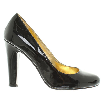 Ralph Lauren in pelle verniciata pumps