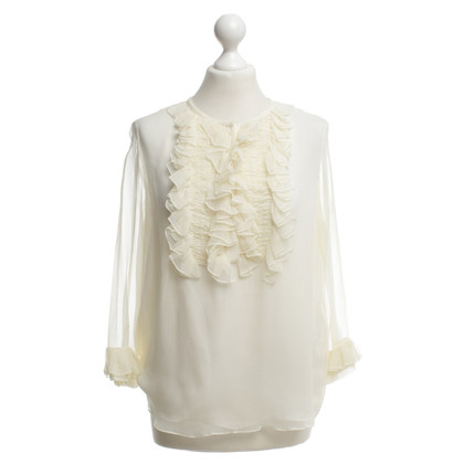 Chloé Silk blouse in cream