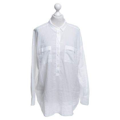 Drykorn Shirt blouse in white