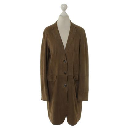 Mabrun Mantel aus Wildleder