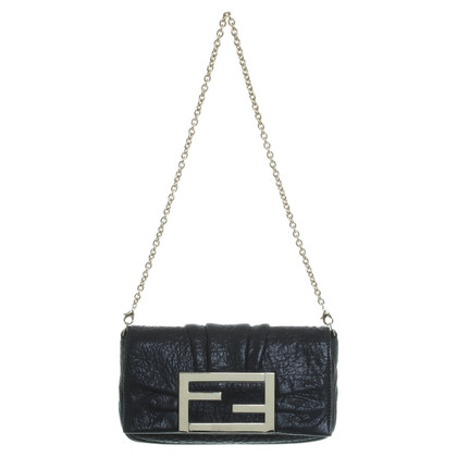 Fendi clutch in zwart