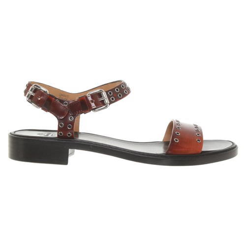 3a16e53f7d3 Church s Sandals Patent leather in Brown - Second Hand Church s ...