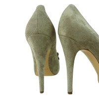 Casadei Gray pumps with bow