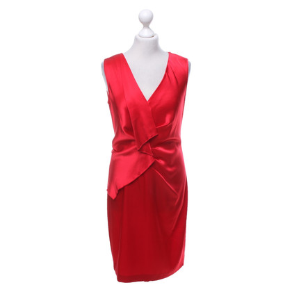 DKNY Red dress made of satin
