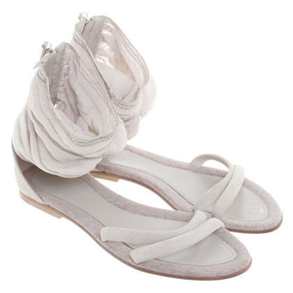 Brunello Cucinelli Sandals with fabric insert