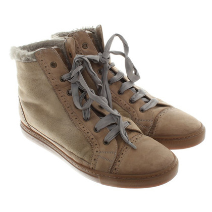 Brunello Cucinelli Lined Sneakers