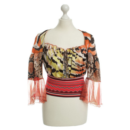 Just Cavalli Blusa stampa animale