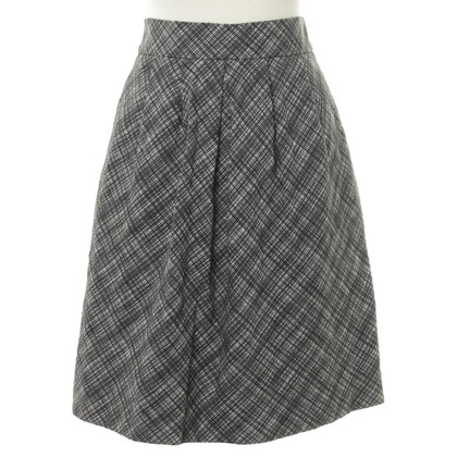 Cacharel skirt in black and white