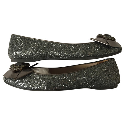 Miu Miu Ballerinas with Strass stones