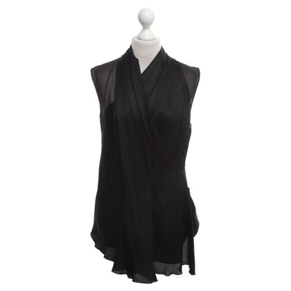Schumacher Camicia Camicetta in Black