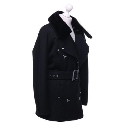 Mugler Coat in black