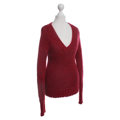 Strenesse Blue Sweater in red