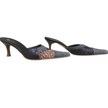 Kurt Geiger Mules made of python leather