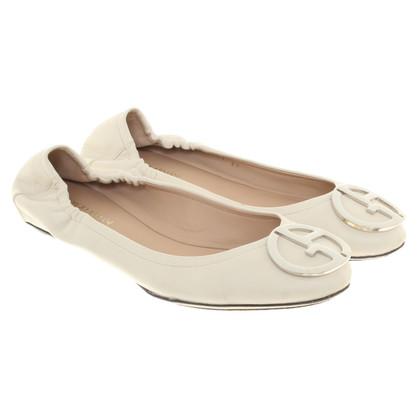 Giorgio Armani Ballerinas in white