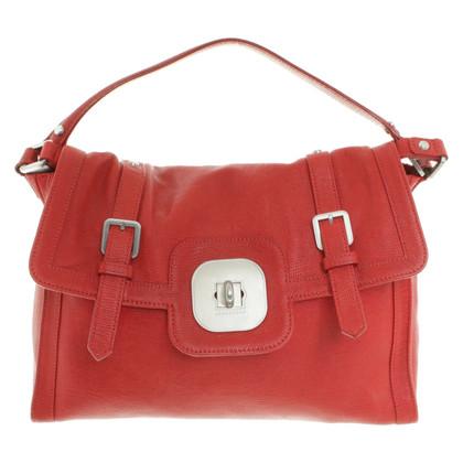 Longchamp Handtasche in Rot
