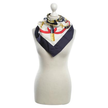 Hermès Silk scarf with pattern print