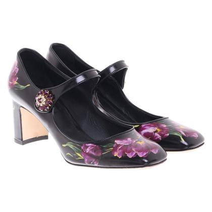 Dolce & Gabbana Pumps in floralem Print