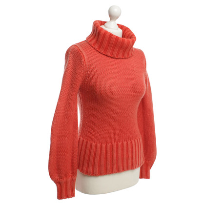Iris von Arnim Cashmere sweater in Orange