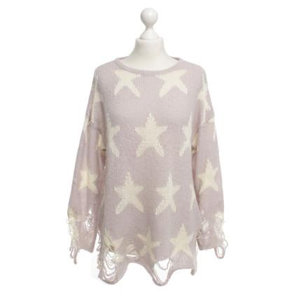 Wildfox Strickpullover mit Sternen