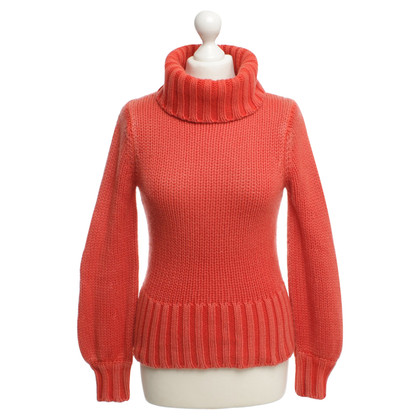 Iris von Arnim Kaschmir-Pullover in Orange