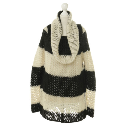 Twin-Set Simona Barbieri Knit sweater with stripes