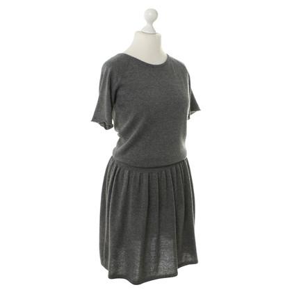 Antonia Zander Cashmere dress in grey