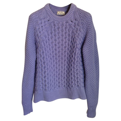Acne Pullover mit Zopfmuster