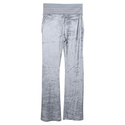 Roberto Cavalli Jogging pants made of velvet