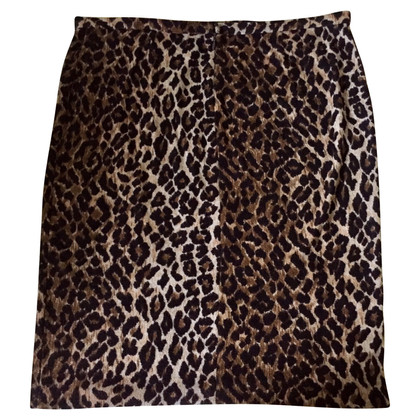 Dolce & Gabbana Midi rok met luipaardprint