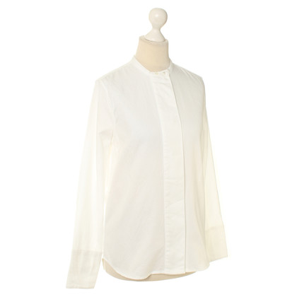 Bruuns Bazaar Bluse in Weiß
