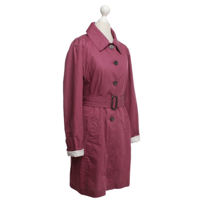 Windsor Trench in fucsia