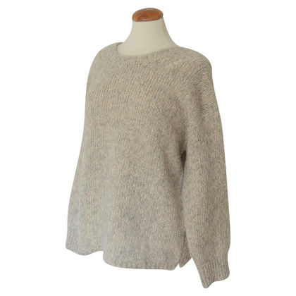 Humanoid Chunky knit sweater with bow