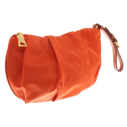 Prada Täschchen in Orange