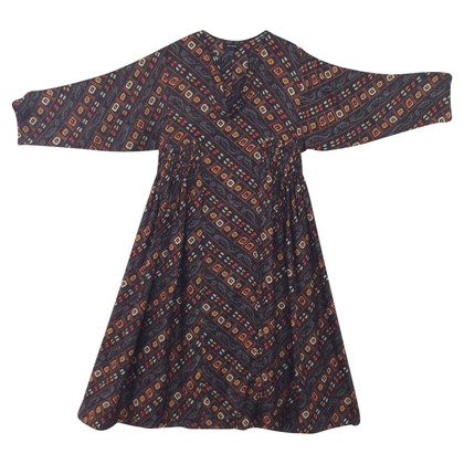 Isabel Marant Silk dress in multicolor