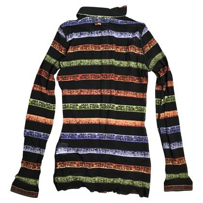 Jean Paul Gaultier Doorzichtige blouse