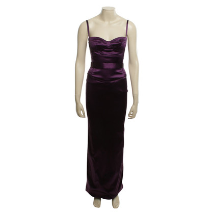 D&G Evening dress in purple