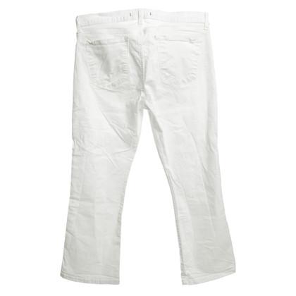 J Brand 3/4 Jeans en blanc