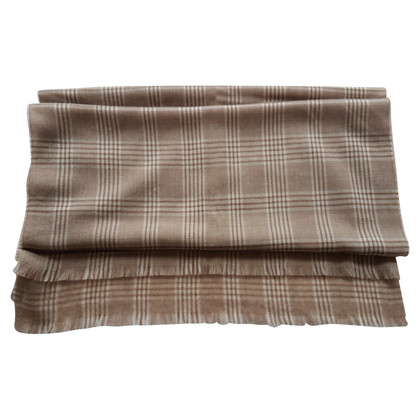 Max Mara  Scarf with checked pattern