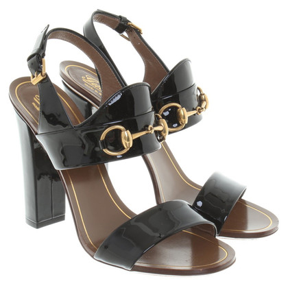 Gucci Sandals of patent leather