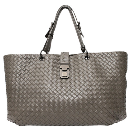 Bottega Veneta Shopper in grey