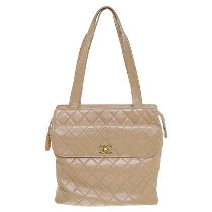 Chanel Schoudertas beige