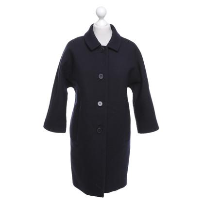 Cos Coat in donkerblauw