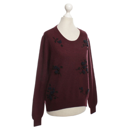 Miu Miu Wool Sweater with embroidery