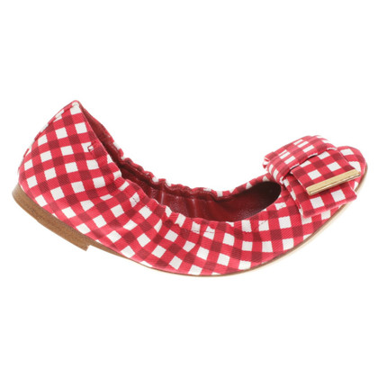 Louis Vuitton Ballerinas with checked pattern
