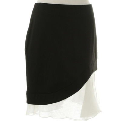 Philosophy di Alberta Ferretti asymmetric skirt in black