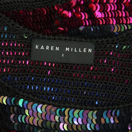 Karen Millen Paillettenoberteil Bunt / Muster Günstig Kaufen Niedrigen Preis Billig 2018 Neu pKeFS10dXN
