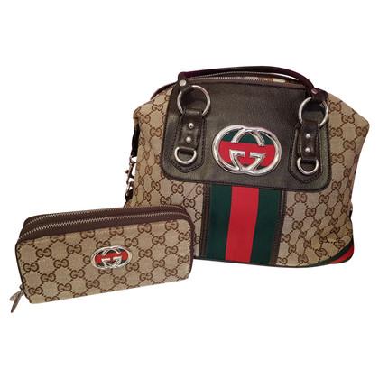 Gucci Sac à bandoulière et porte-monnaie