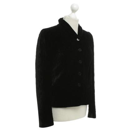 Ralph Lauren Velvet giacca in nero