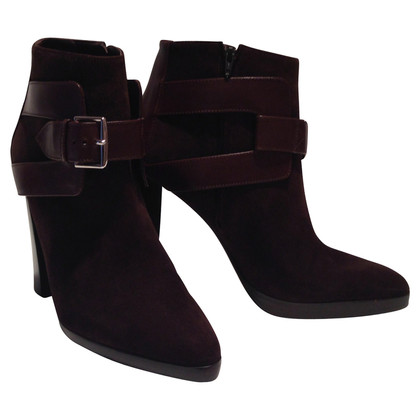 Hermès Ankle boots in suede