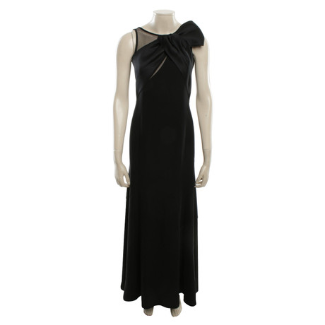 Armani Abendkleid in Schwarz Schwarz